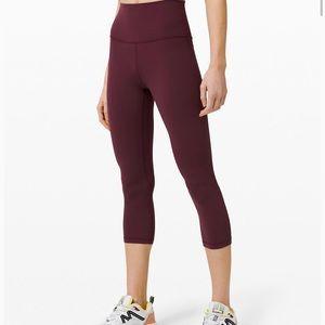 Lululemon maroon leggings